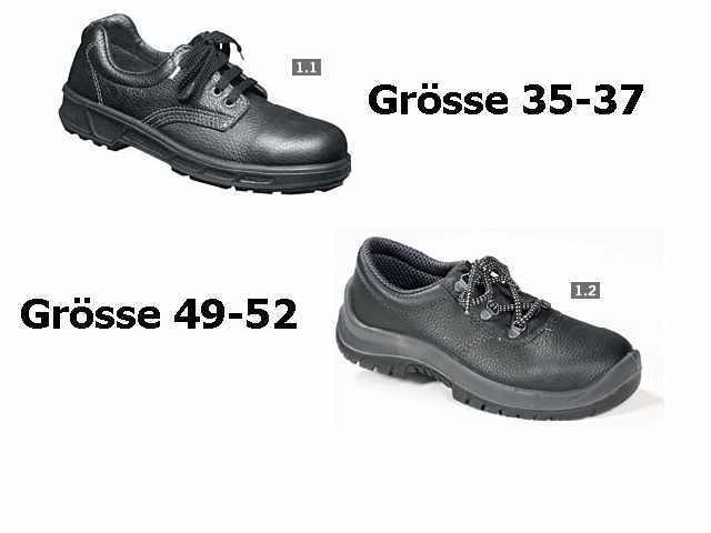 Sicherheitsschuhe Arbeitsschuhe Berufsschuhe EN 345 S3 halbhohe Schuhe